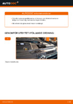 När byta Luftfilter VW GOLF IV (1J1): pdf handledning