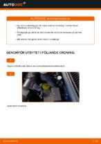 Bilmekanikers rekommendationer om att byta VW Golf 4 1.6 Fjäderbenslagring