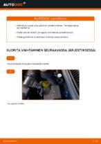 Automekaanikon suositukset VW Golf 4 1.6 -auton Moniurahihna-osien vaihdosta