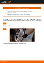 VW GOLF Tukivarsi vaihto: ilmainen pdf