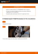 W jaki sposób wymienić przedni łącznik stabilizatora w VOLKSWAGEN GOLF IV