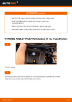 Jak wymienić olej silnikowy i filtr oleju w VOLKSWAGEN GOLF IV