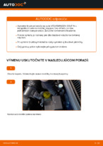 Ako vymeniť predné brzdové kotúče na VOLKSWAGEN GOLF IV