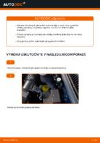 Ako vymeniť predné brzdové platničky kotúčovej brzdy na VOLKSWAGEN GOLF IV