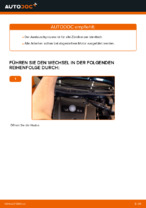 Hinweise des Automechanikers zum Wechseln von VW Golf 4 1.6 Radlager