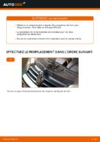 Comment remplacer les plaquettes de frein à disque arrière sur une VOLKSWAGEN GOLF IV