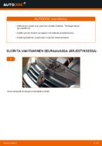 VW GOLF Jarrupalasarja vaihto: ilmainen pdf