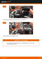 VW GOLF Pyyhkijänsulat vaihto: ohjekirja