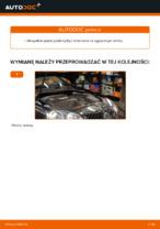 W jaki sposób wymienić pasek klinowy silnika w VOLKSWAGEN GOLF V