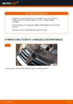 Ako vymeniť zadné brzdové platničky kotúčovej brzdy na VOLKSWAGEN GOLF IV