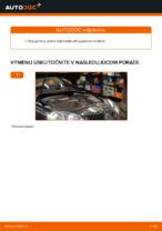 Ako vymeniť ozubený klinový remeň motora na VOLKSWAGEN GOLF V