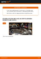 Wie Sie den Motorluftfilter am VOLKSWAGEN GOLF V ersetzen