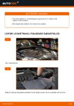 Hvordan man udskifter motorens luftfilter på VOLKSWAGEN GOLF V