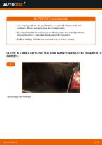 Cómo sustituir los amortiguadores de gas de la puerta del maletero en VOLKSWAGEN GOLF V