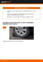 Hochwertige Kfz-Reparaturanweisung für hinten + vorne Radlagersatz VW
