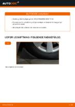 Værkstedshåndbog til VW GOLF II (19E, 1G1)