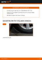 Byta Hjullager bak och fram VW GOLF V (1K1): guide pdf