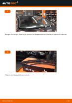 Cómo cambiar las escobillas traseras de limpiaparabrisas en VOLKSWAGEN GOLF V