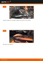 Jak vyměnit lištu zadního stěrače na autě VOLKSWAGEN GOLF V