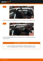 Cómo cambiar las escobillas delanteras de limpiaparabrisas en FIAT PUNTO II (188)