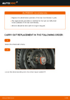 How to replace and adjust Brake wheel cylinder left and right: free pdf guide