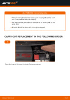 How to replace and adjust Brake pad set front and rear: free pdf guide