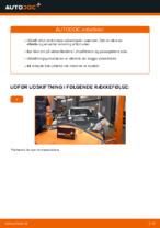 Udskiftning af Vinduesvisker: pdf vejledning til TOYOTA AYGO