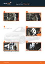 Substituir Jogo de rolamentos de roda traseira e dianteira MAZDA 3: tutorial online