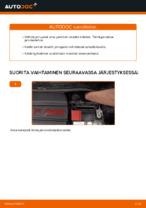 Jarrupalasarja vaihto: FIAT 500 pdf oppaat