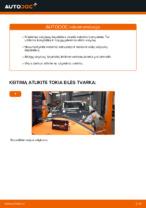 TOYOTA - taisymo vadovai su iliustracijomis