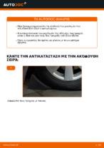 Μάθετε πώς να διορθώσετε το πρόβλημα του Ρουλεμάν τροχών πίσω αριστερά δεξιά VW