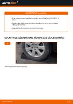 Kuidas vahetada ja reguleerida Rattalaager VW GOLF: pdf juhend