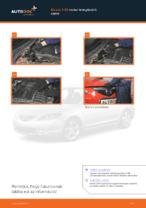 Online ingyenes kézikönyv - Légszűrő MAZDA 3 (BK) csere