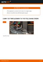 DIY manual on replacing TOYOTA AYGO Spark Plug