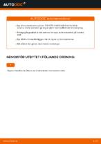 DIY-manual för byte av Bromsskivor i TOYOTA AYGO (WNB1_, KGB1_)