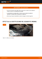 Quando cambiare Molla sospensione autotelaio TOYOTA AYGO (WNB1_, KGB1_): manuale pdf