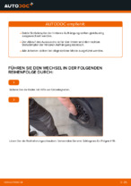 Stoßdämpfer wechseln TOYOTA AYGO: Werkstatthandbuch