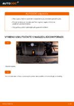Ako vymeniť vzperu predného tlmiča na aute VOLKSWAGEN GOLF IV
