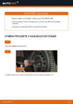 Jak vyměnit ložisko předního náboje na FIAT PUNTO 188