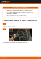 Auto mechanic's recommendations on replacing FIAT Fiat Punto 188 1.2 16V 80 Brake Discs