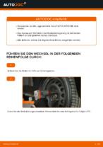 Austauschen von Radlagersatz Anweisung PDF für FIAT PUNTO