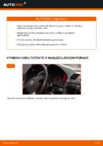 Ako vymeniť lištu predného stierača na aute VOLKSWAGEN GOLF V