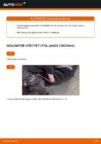 Byta Länkarm hjulupphängning bak och fram TOYOTA själv - online handböcker pdf