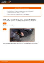 Mudar Braço transversal esquerdo e direito TOYOTA faça você mesmo - manual online pdf