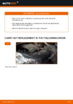 Fitting Shock Absorber TOYOTA AYGO (WNB1_, KGB1_) - step-by-step tutorial