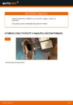 Ako vymeniť palivový filter na VOLKSWAGEN GOLF IV