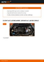 NISSAN - remondi käsiraamatud koos illustratsioonidega
