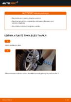 Kada reikia keisti Skersinės vairo trauklės galas VW GOLF IV (1J1): pdf vadovas