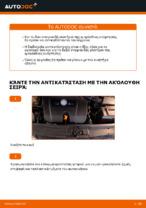 Αντικατάσταση Ανάρτηση εμπρος αριστερά δεξιά VW μόνοι σας - online εγχειρίδια pdf