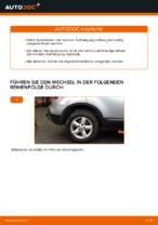 Schraubenfeder vorne links rechts auswechseln: Online-Handbuch für NISSAN QASHQAI
